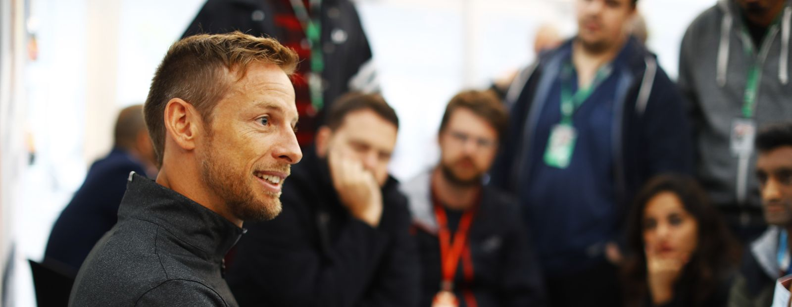Catching up with Jenson Button