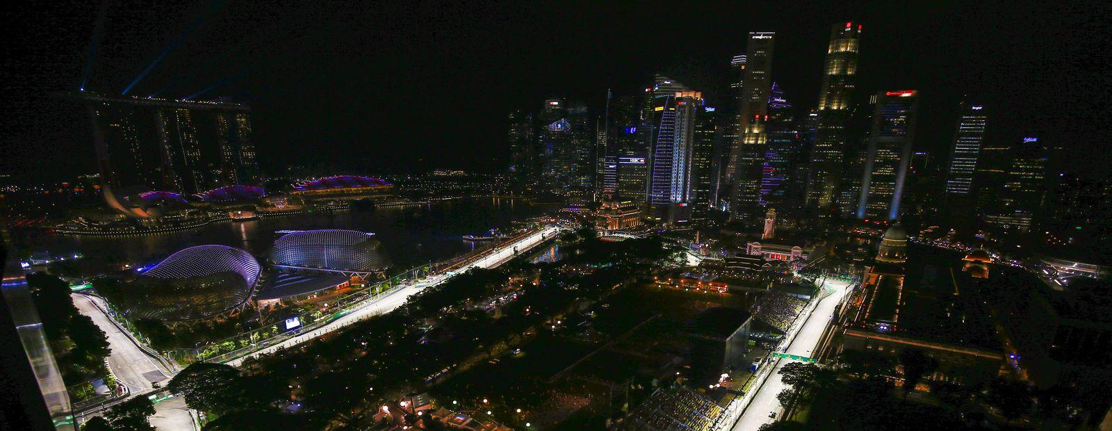 Circuito Singapur : Mclaren fórmula 1 gran premio de singapur