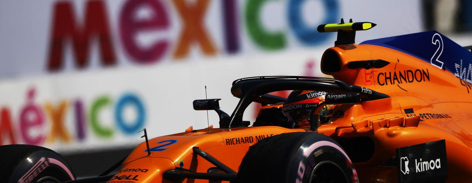 Gran Premio de México 2018 - entrenamientos libres