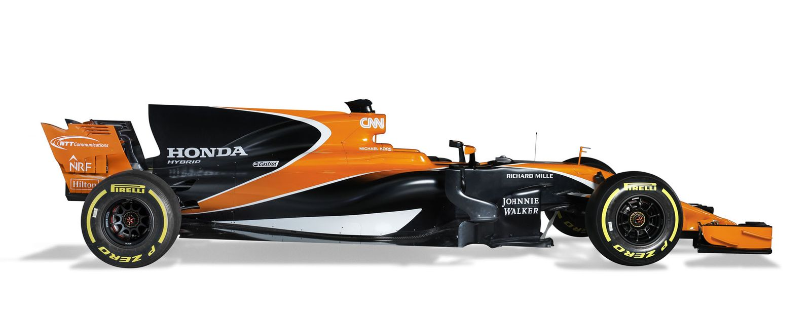 McLaren Honda MCL32 breaks cover