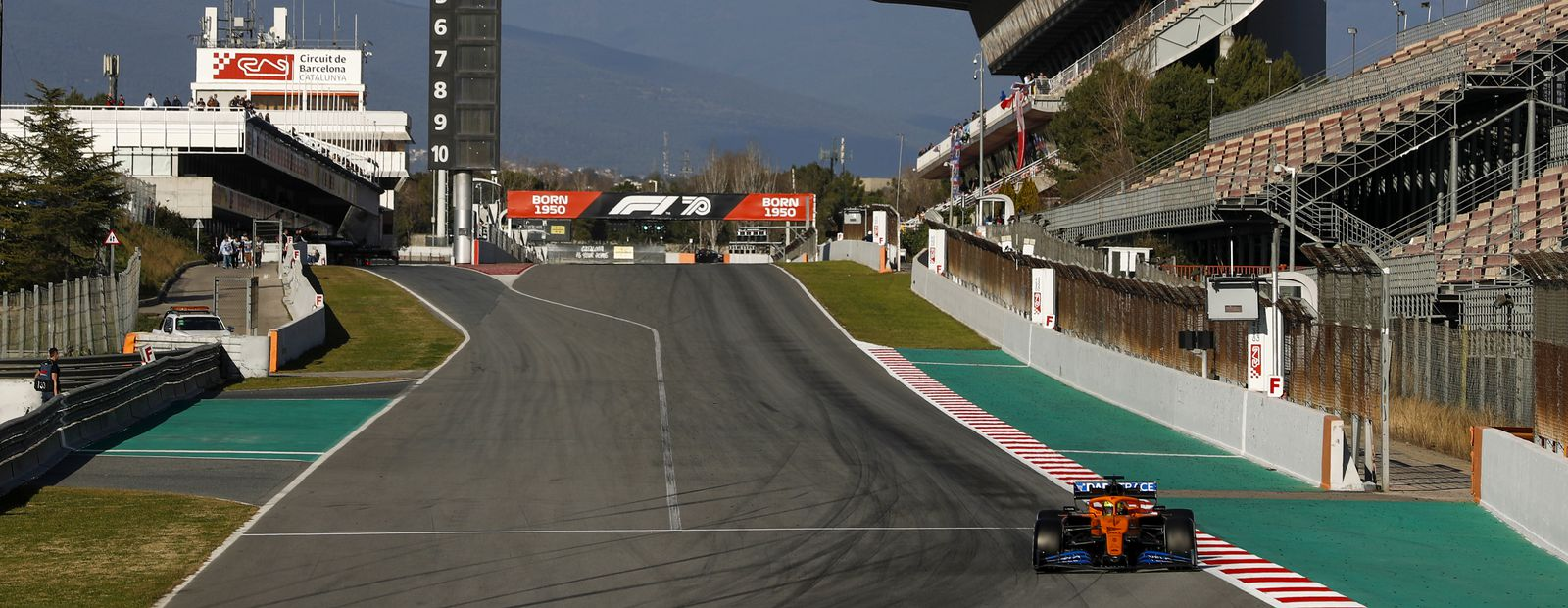 Barcelona Test 2: Day 1