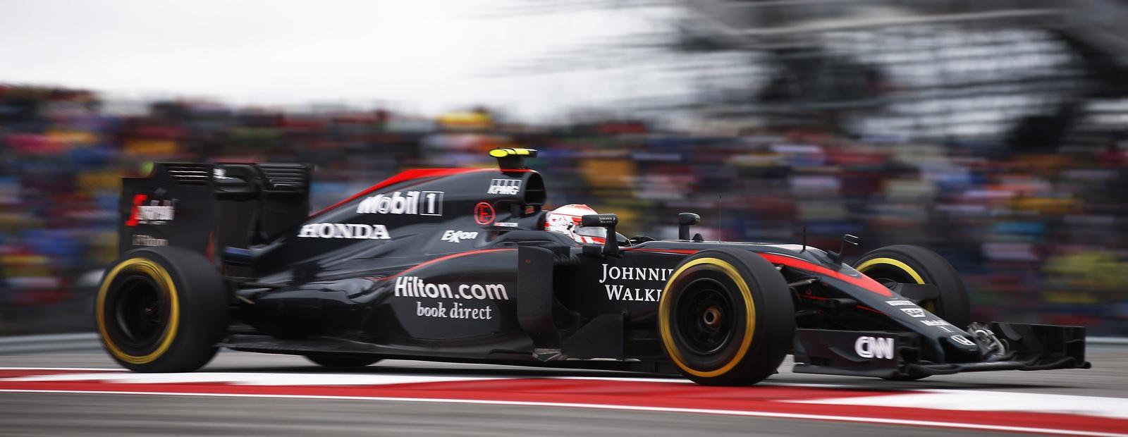 mclaren formula 1 - 2015 united states grand prix qualifying & race