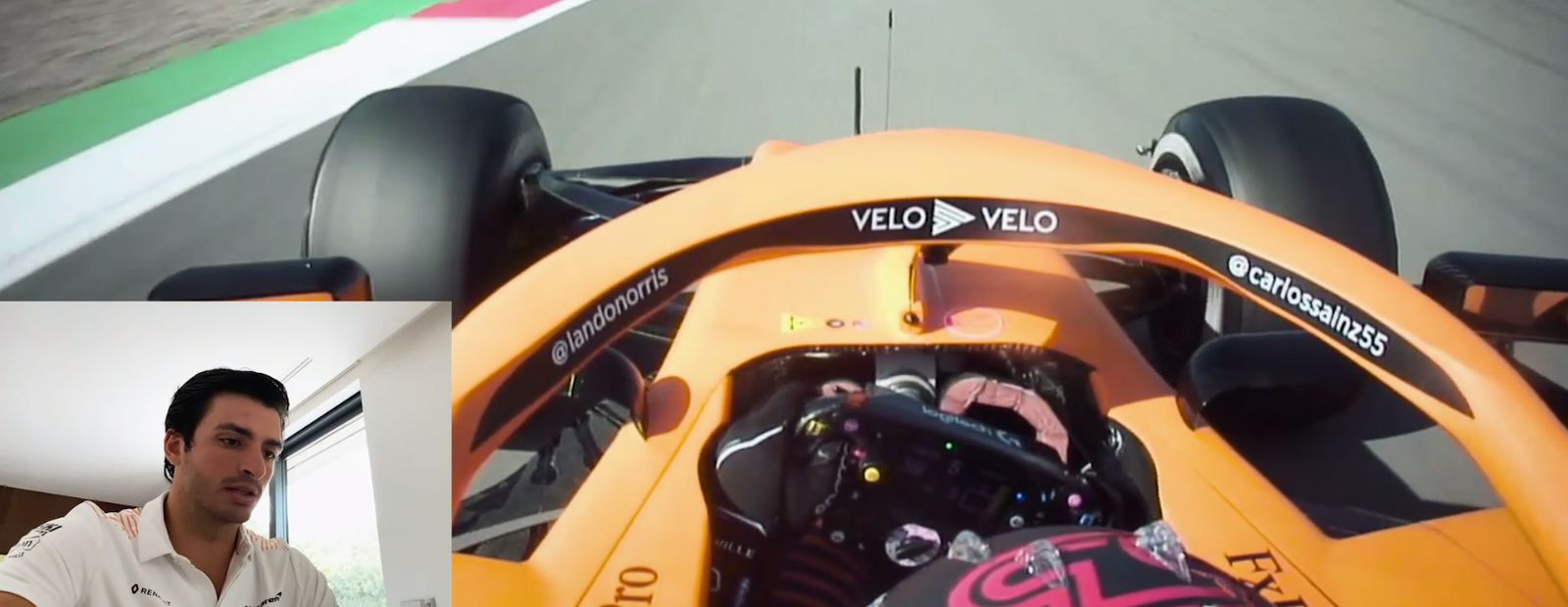 Onboard with Carlos