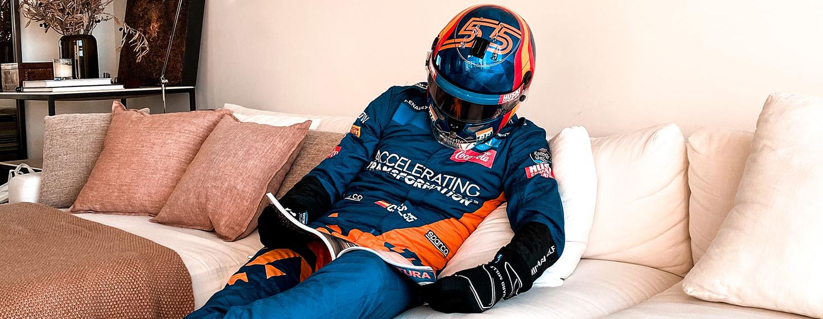 An F1 approach to working from home