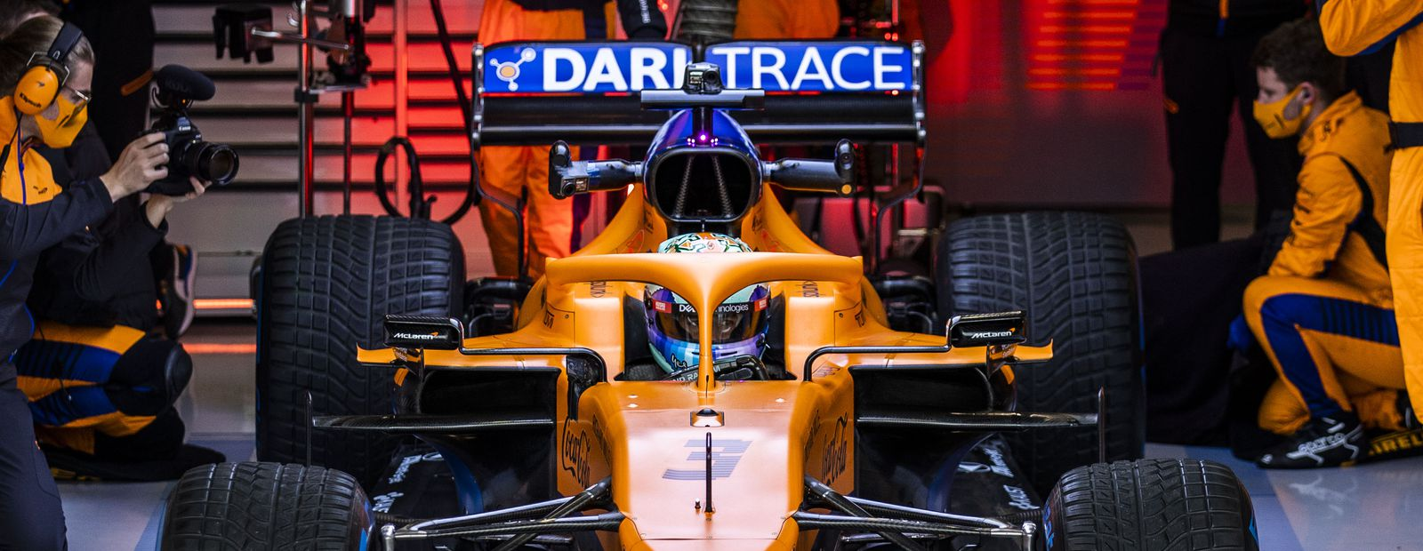 McLaren Racing announces extended and enhanced partnership with Darktrace