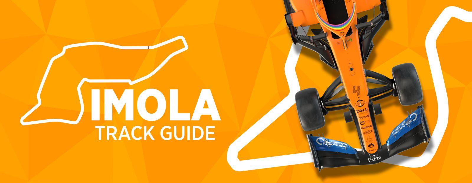 Imola track guide