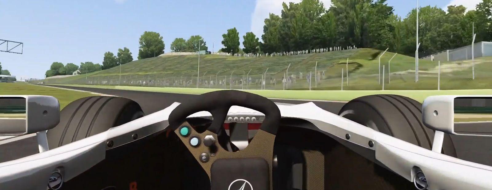 Virtual lap of Imola