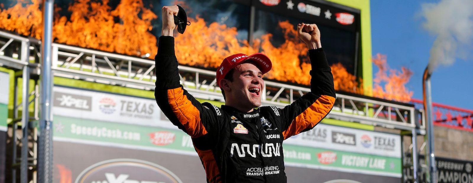 McLaren returns to victory lane