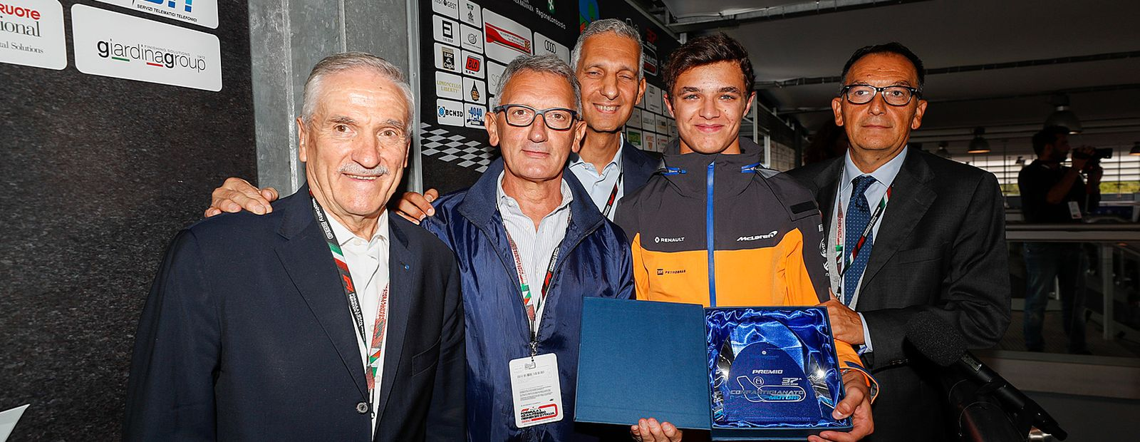 Lando named Rookie of the Year at the Confartigianato Motori Awards