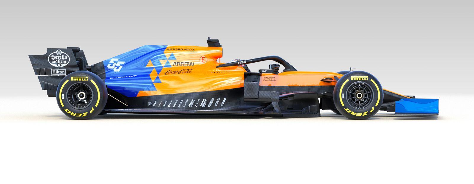 McLaren unveils MCL34 alongside new 2019 driver line-up