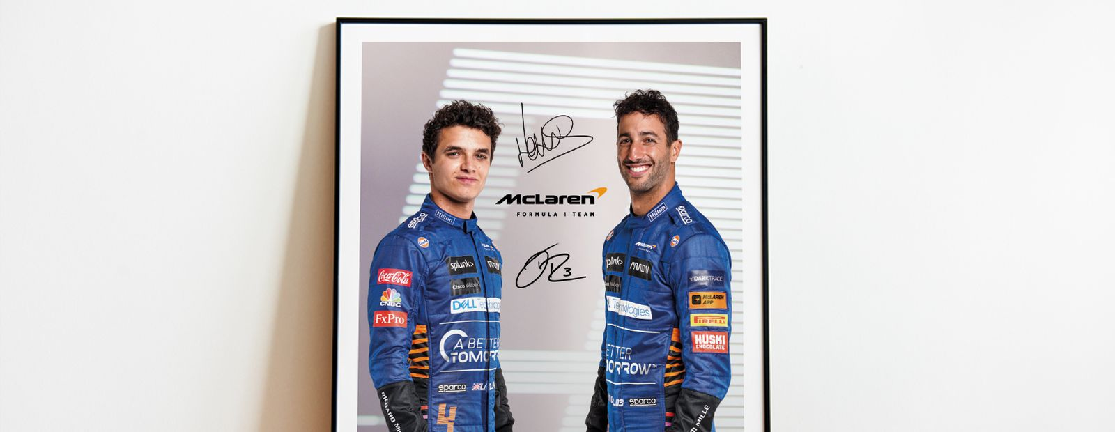Win a signed driver print