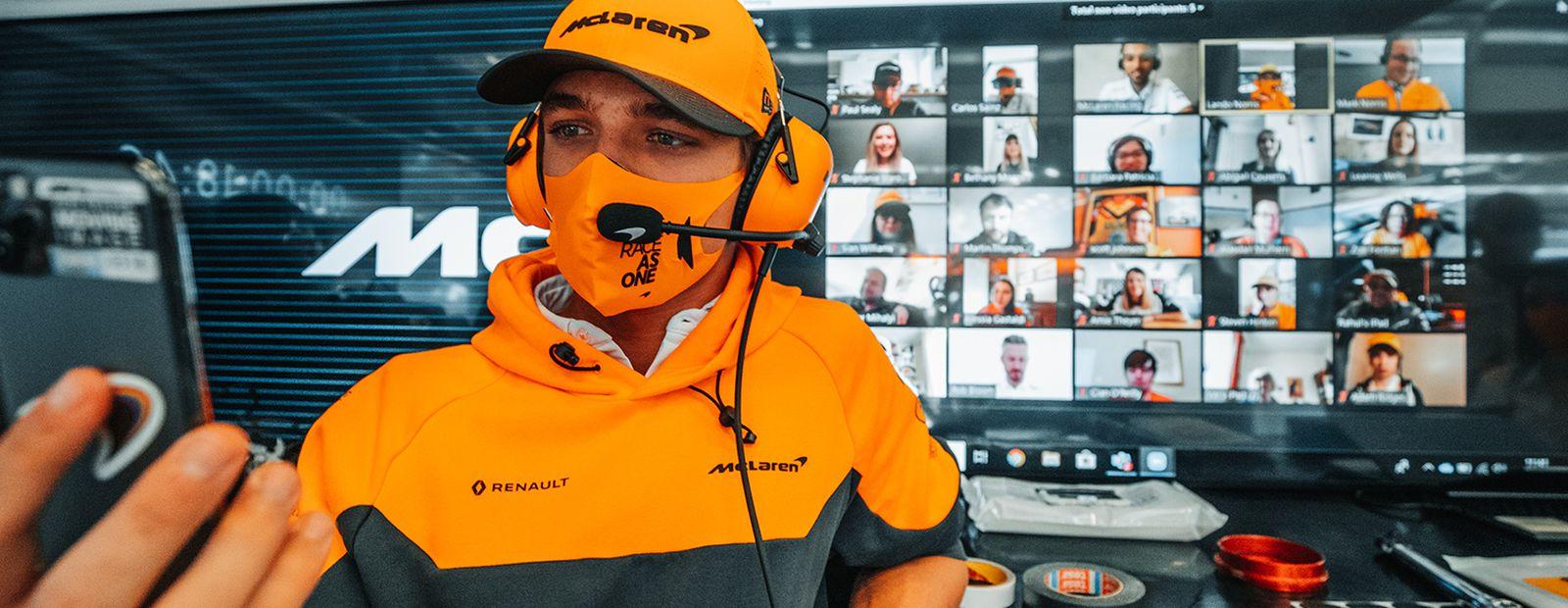 McLaren Plus Virtual Grandstand