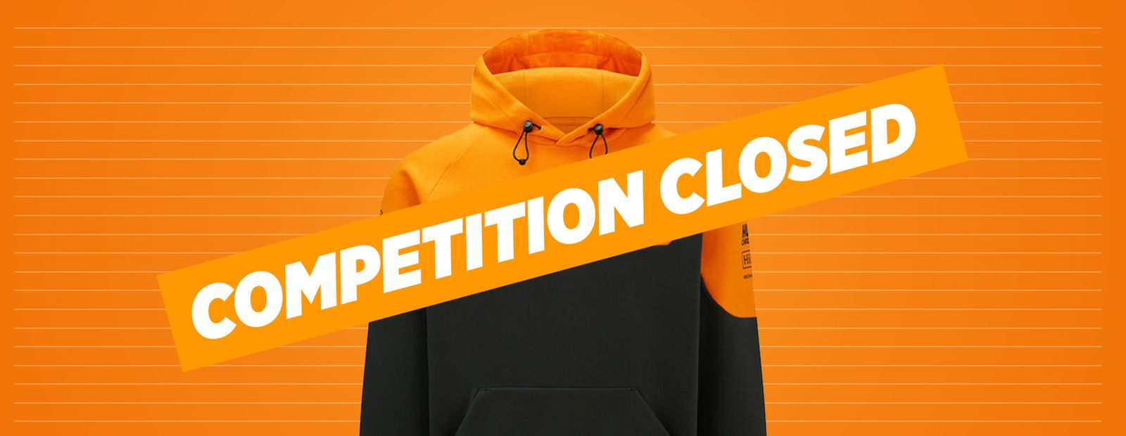 Win a signed Team Hoodie