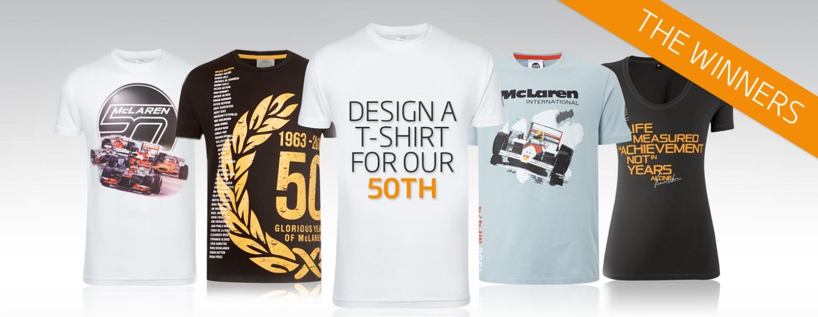Mclaren formula 1 design a mclaren 50 t shirt for 2017 mexican heritage night t shirt