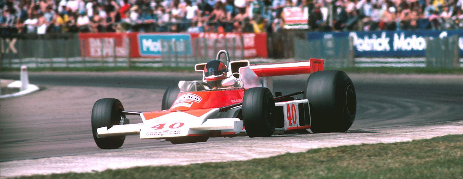 Gilles Villeneuve and McLaren