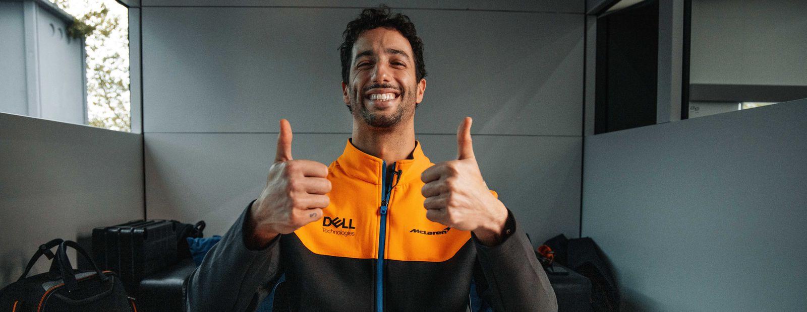 Daniel Ricciardo goes undercover on the internet