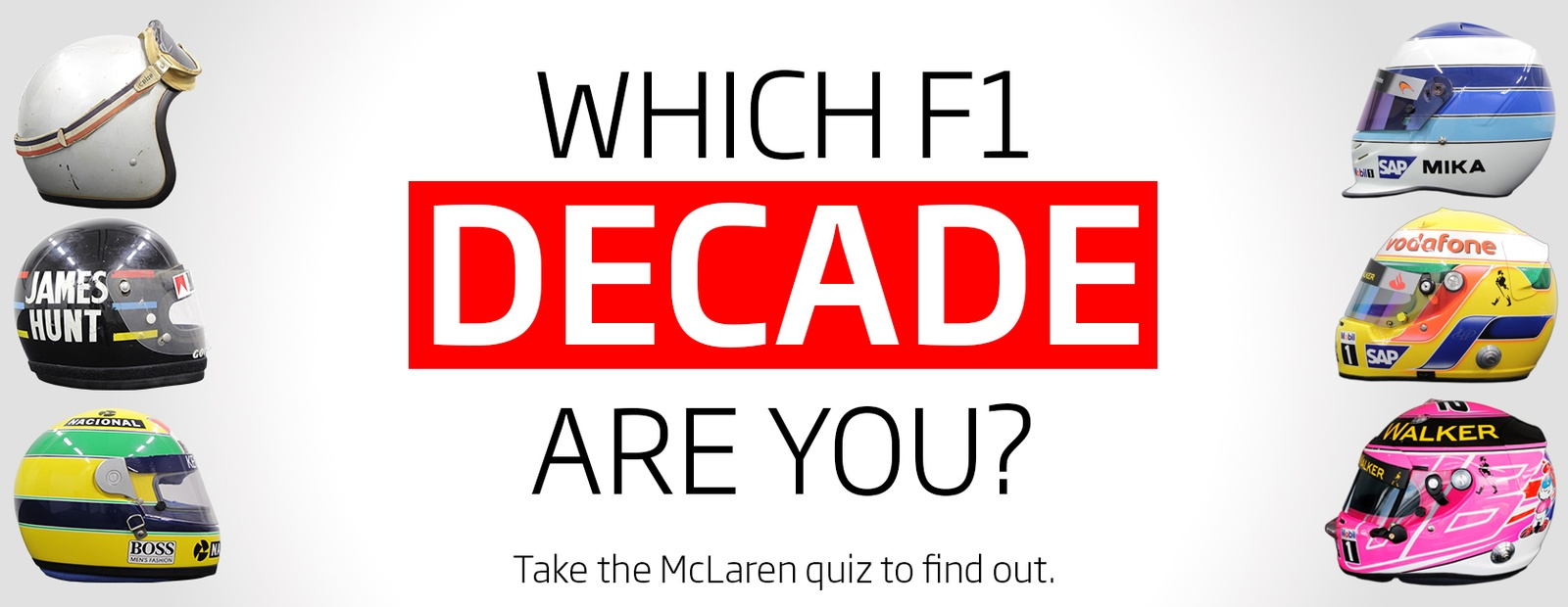 Which F1 Decade Are You?