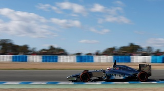 Test report - Jerez Day 3, 30 January 2014