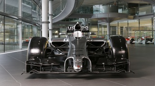 McLaren Formula 1 reveals its 2014 challenger: the MP4-29