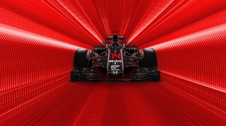 Fernando Alonso Tunnel Vision Red
