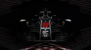 Jenson Button Dark Reflections