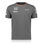 2016 McLaren Honda Official Team Set Up T-Shirt - Cool Grey