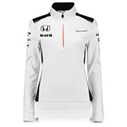 2016 McLaren Honda Official Team 1/4 Zip Sweatshirt – Womens
