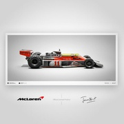 James Hunt Colours of Speed Limited Edition Print