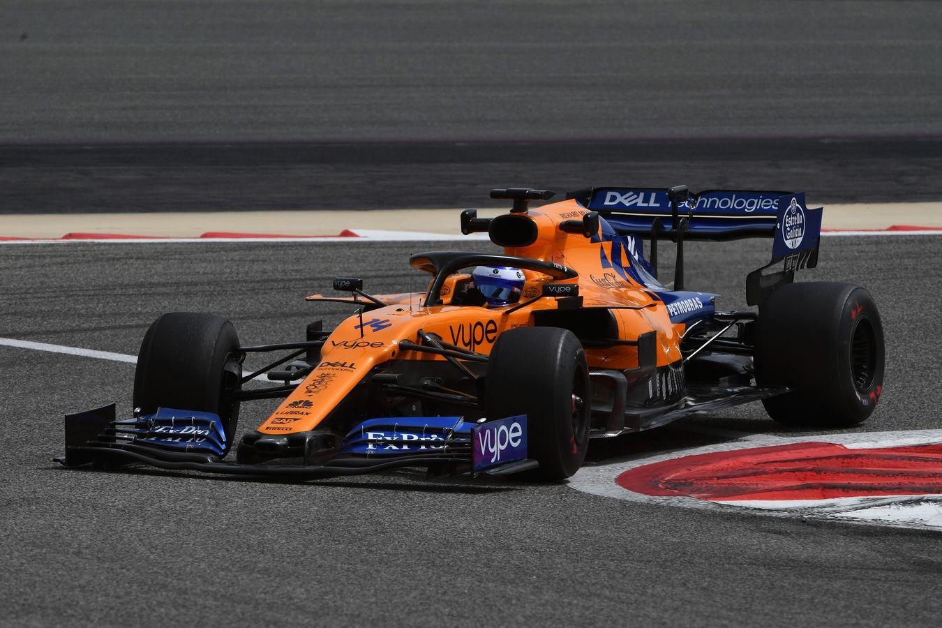 Mclaren Racing Bahrain In Season Test Day 1