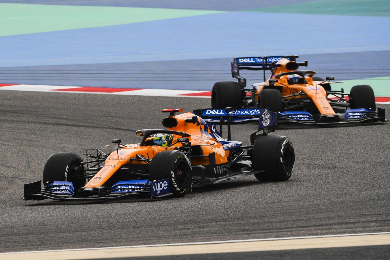 Mclaren Formula 1: Bahrain In-season Test: Day 2