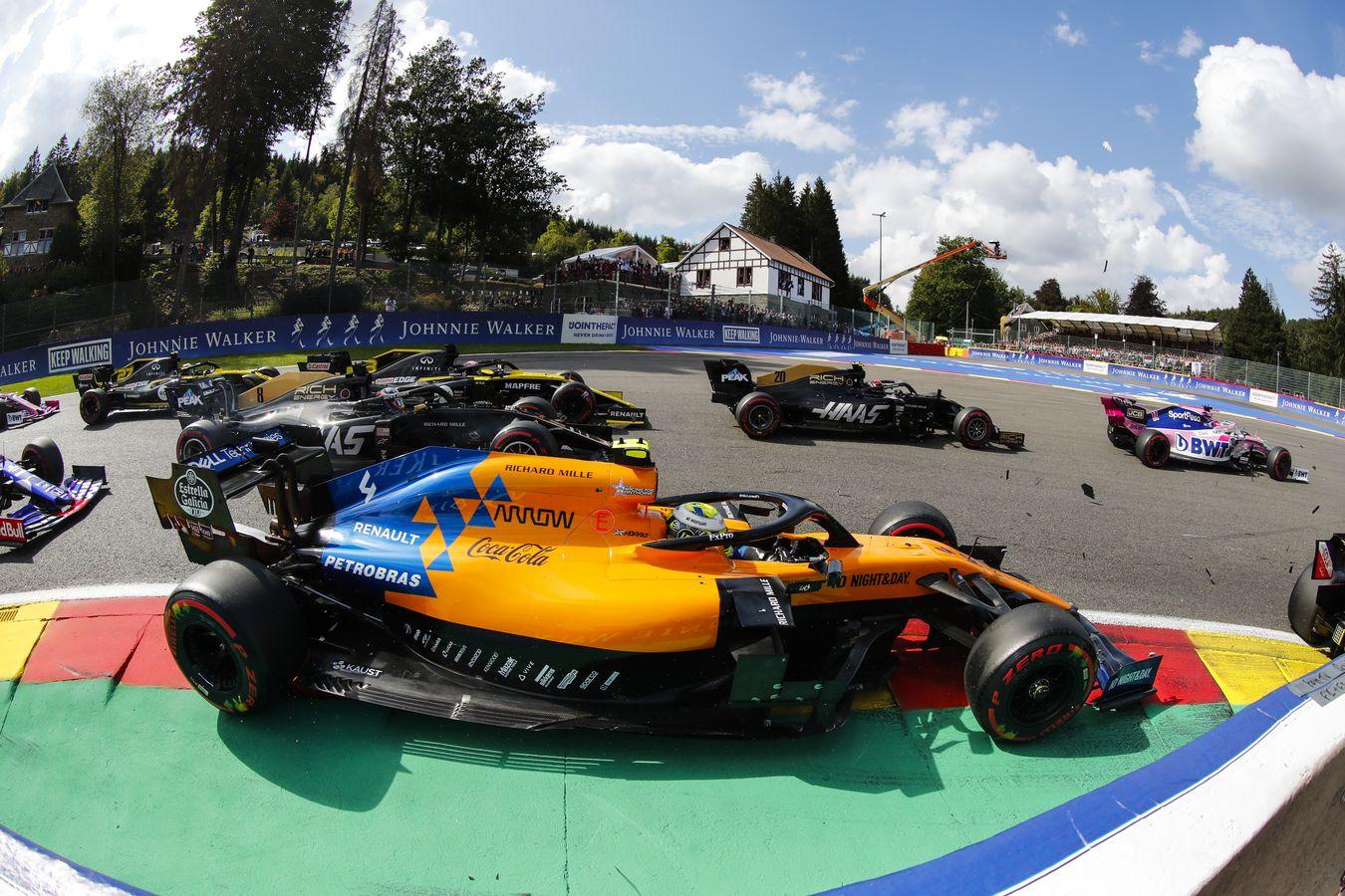 Mclaren Racing 2019 Belgian Grand Prix