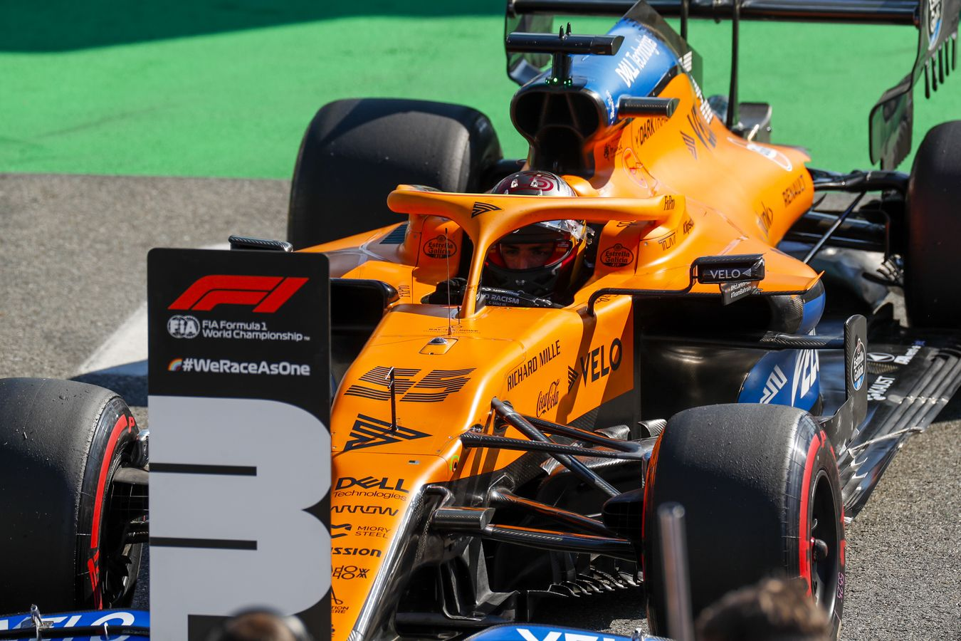 Mclaren Racing 2020 Italian Grand Prix Qualifying