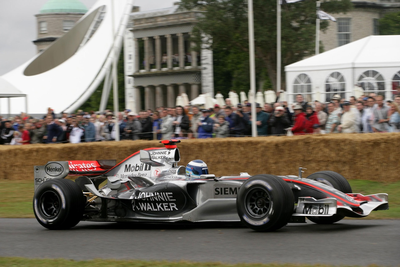 mclaren formula 1 - when 10 classic mclarens tackled the goodwood hill