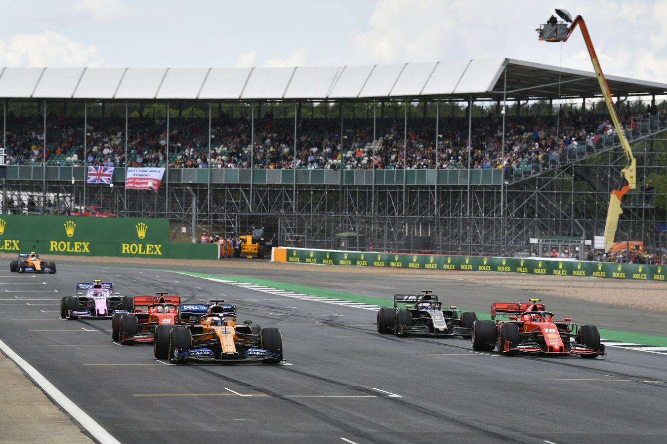62948da2e McLaren Racing - 2019 British Grand Prix - Free Practice