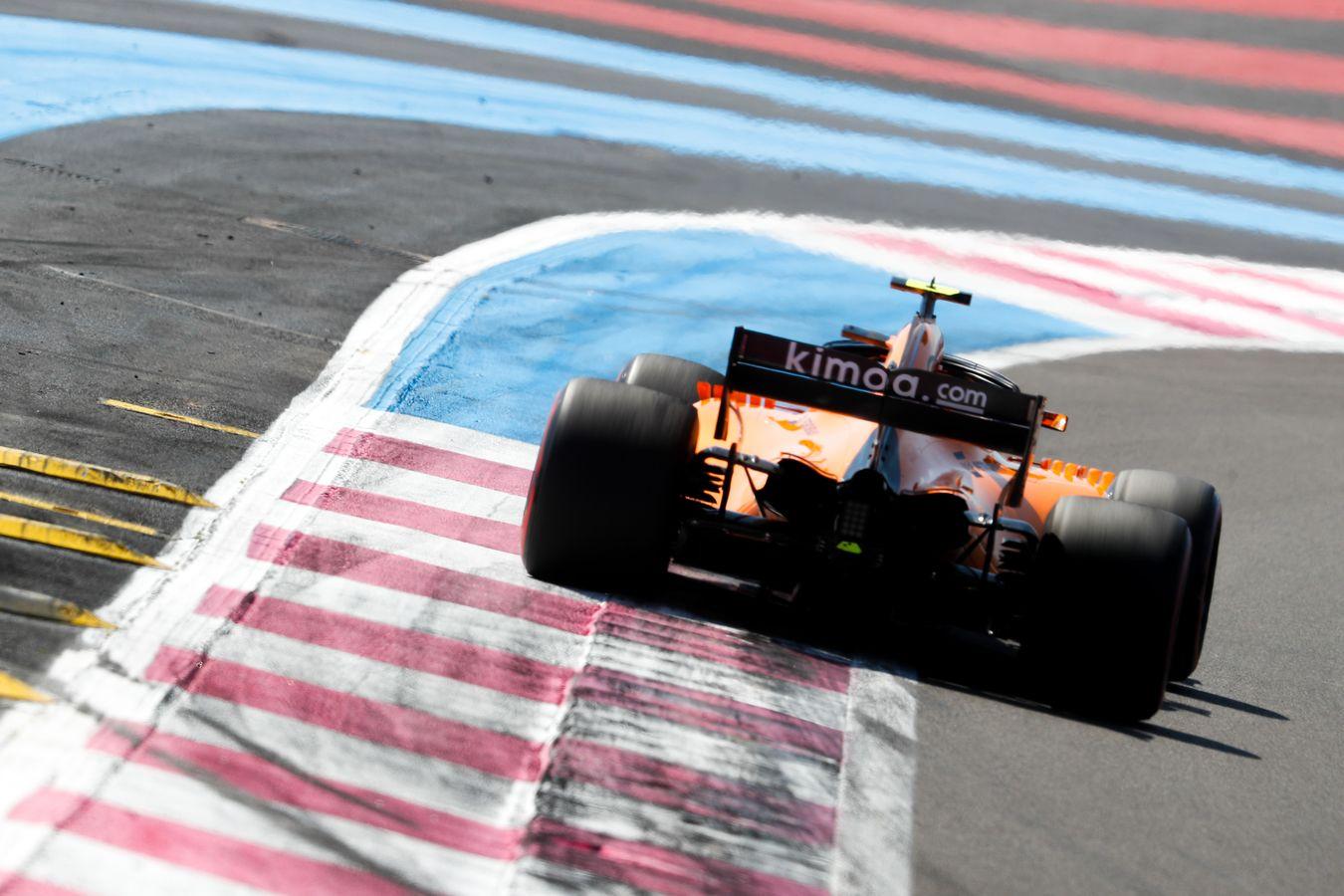 Mclaren Formula 1 2018 French Grand Prix Free Practice
