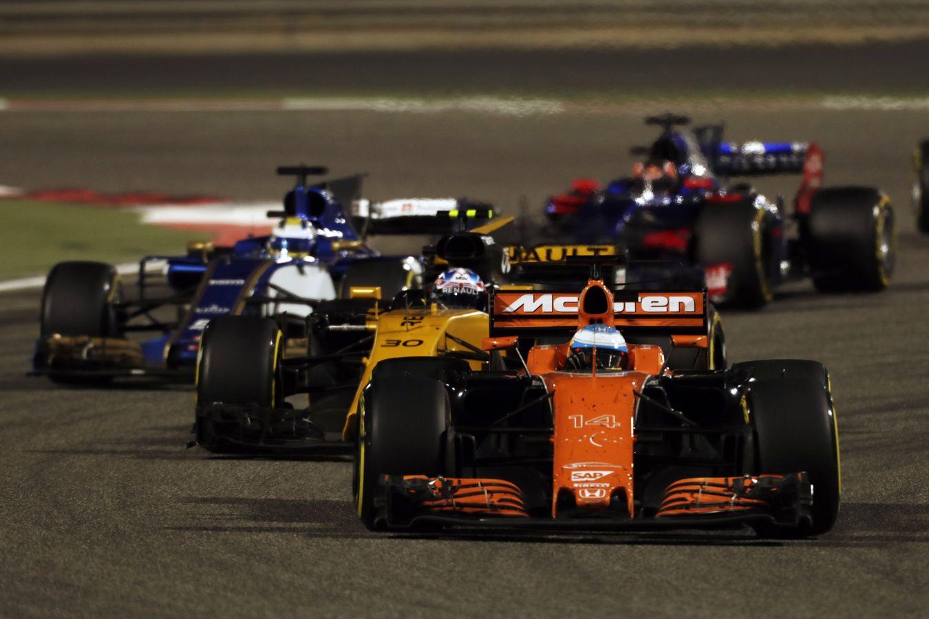 mclaren formula 1 - 2017 bahrain grand prix