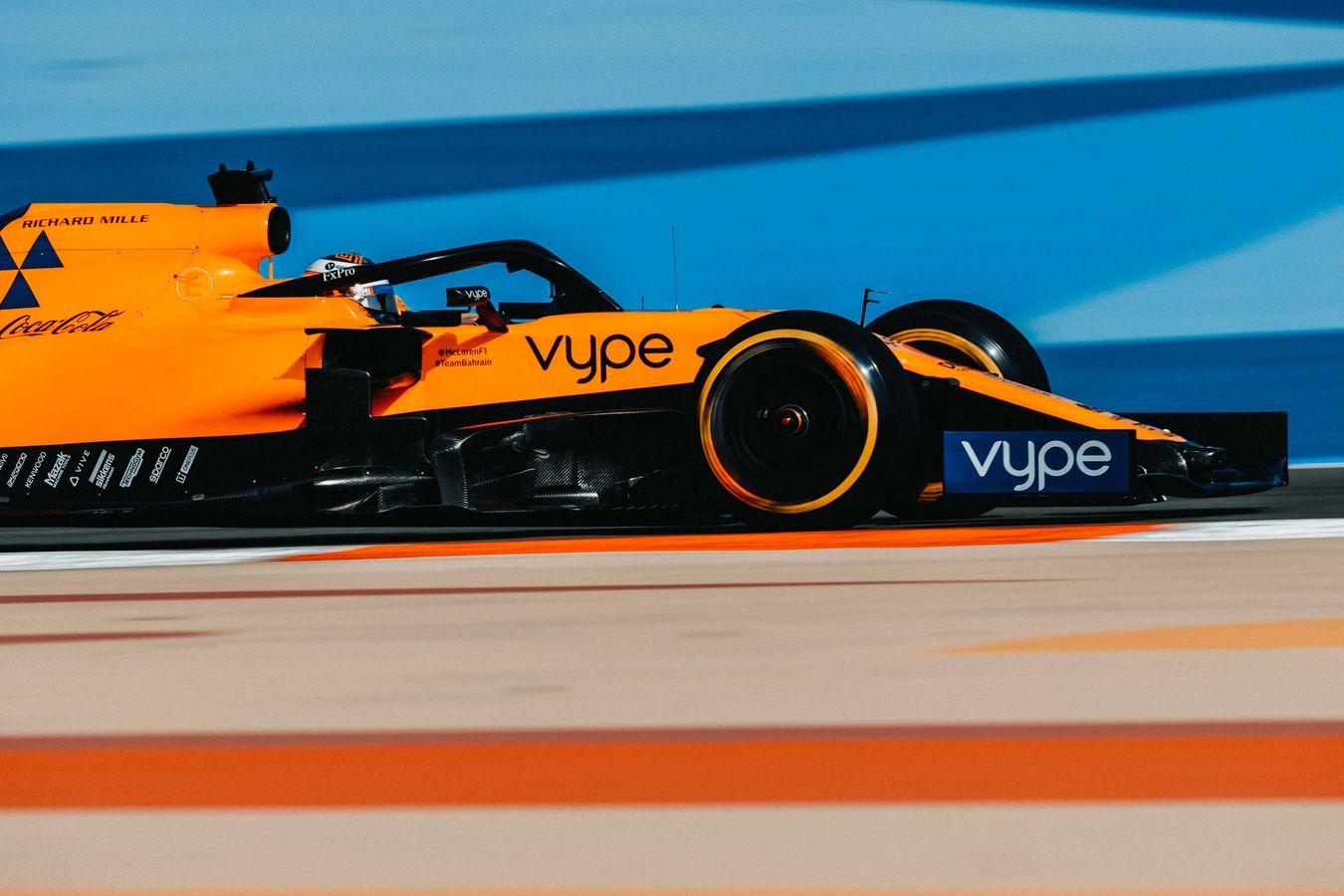 Mclaren Racing 2019 Bahrain Grand Prix Qualifying