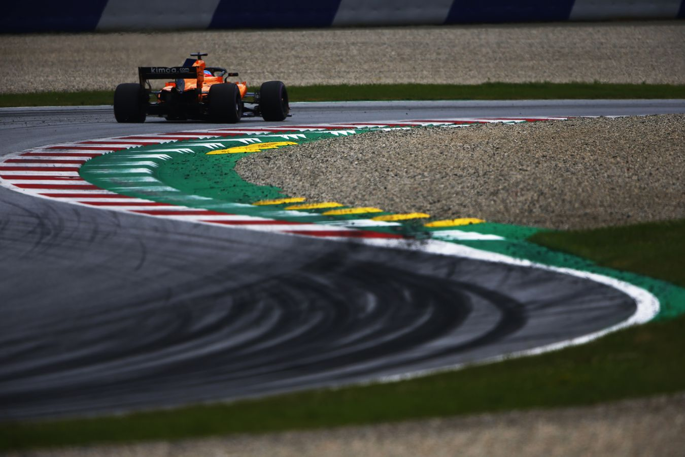 McLaren Racing - 2018 Austrian Grand Prix - Qualifying