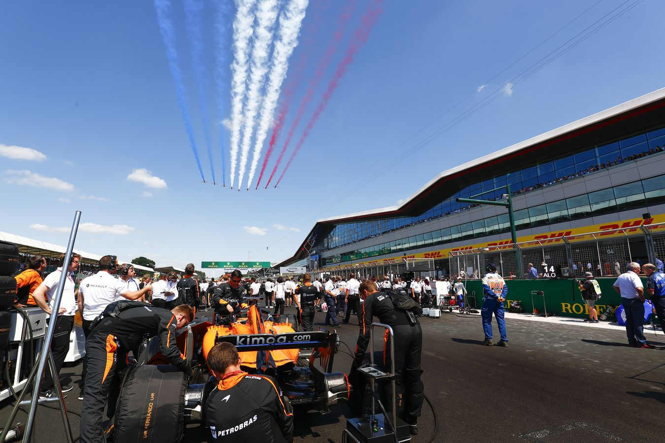 Azerbaijan Grand Prix >> McLaren Formula 1 - 2018 British Grand Prix