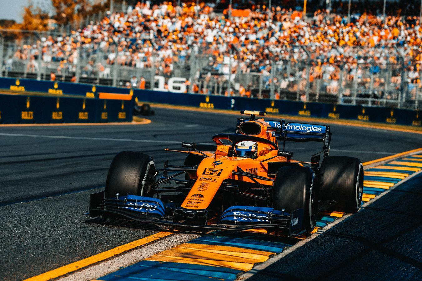 Mclaren Racing 2019 Australian Grand Prix