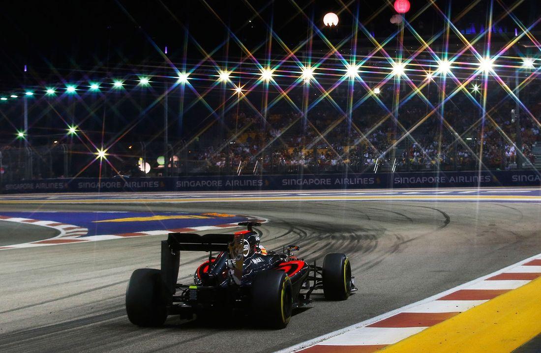 Mclaren Formula 1 Singapore Grand Prix In Pictures