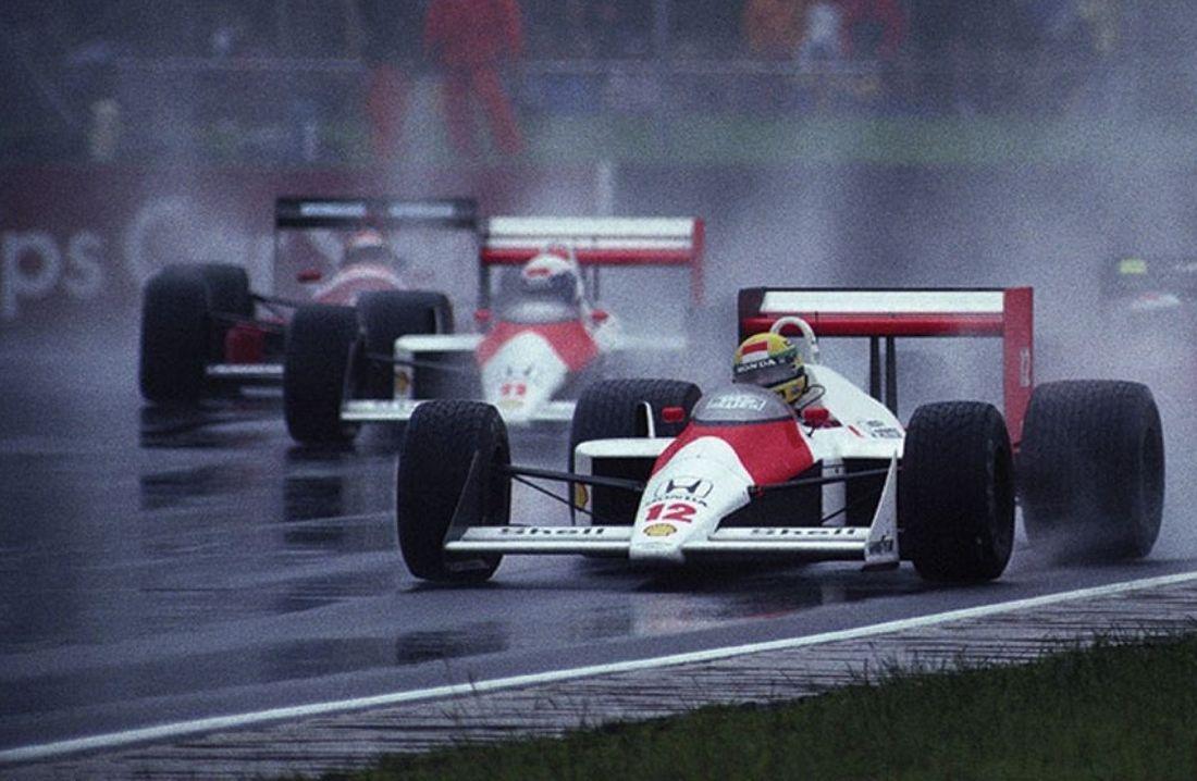 Mclaren Formula 1 Happy Birthday Ayrton