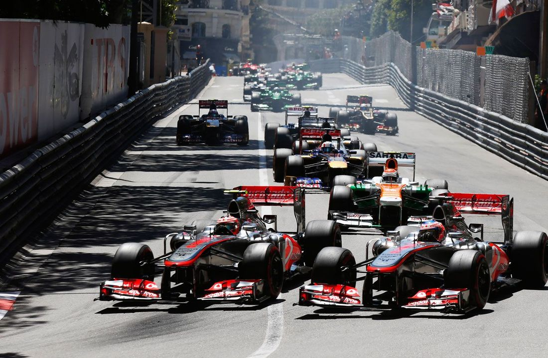 Mclaren Formula 1 Monaco Grand Prix In Pictures