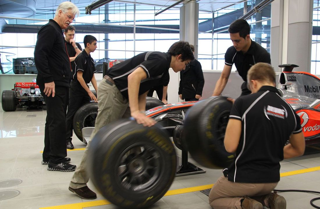 McLaren Applied Technologies welcomes young drivers to MTC for new Performance Academy