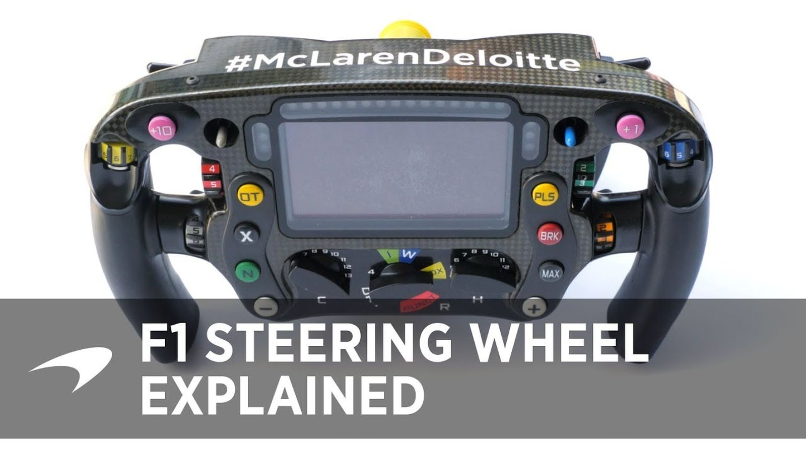 A Guide To The F1 Steering Wheel