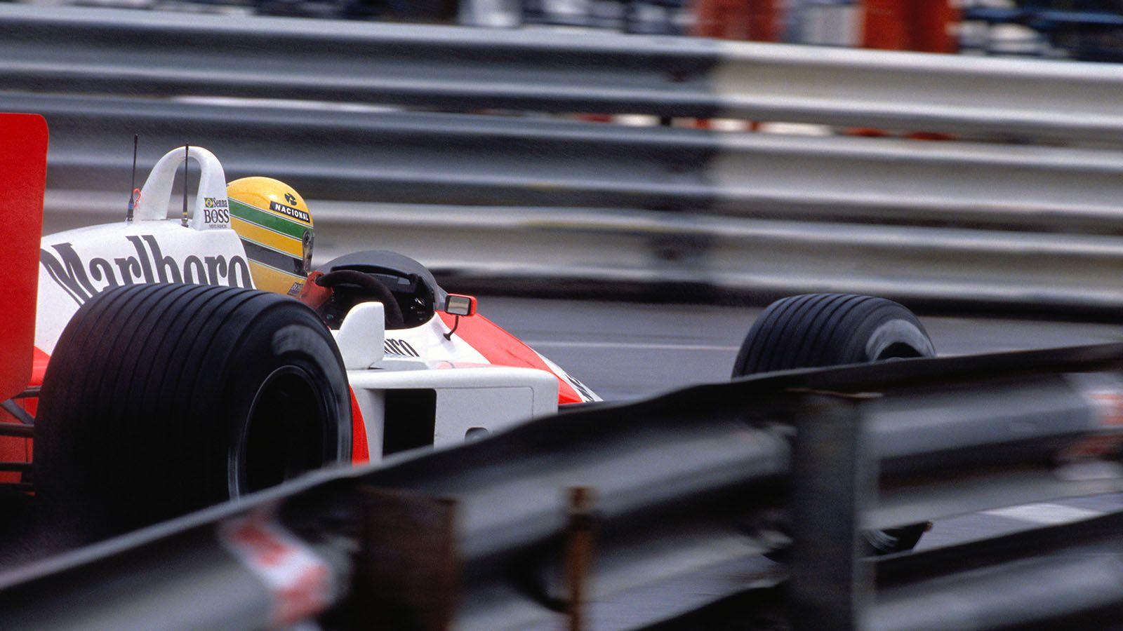 McLaren Racing - Sensational Senna in Monaco