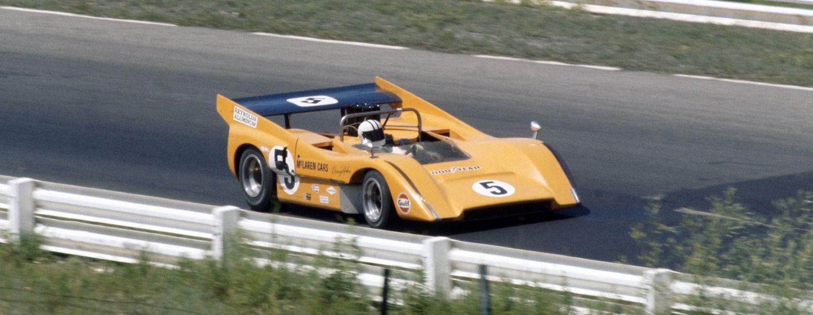 Can Am Car >> Mclaren Racing Heritage M8d