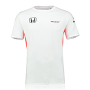 Camiseta Set Up oficial del equipo McLaren Honda 2017 en blanco